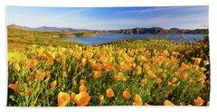 California Dreamin Hand Towel by Tassanee Angiolillo