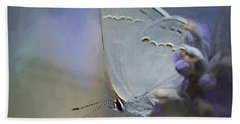 California Hairstreak Butterfly 2 Hand Towel