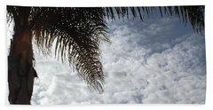 California Palm Tree Half View Hand Towel