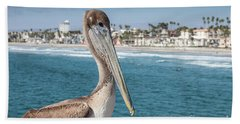 California Pelican Bath Towel