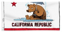 California Rain Hand Towel