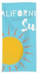 California Sun- Art By Linda Woods Hand Towel