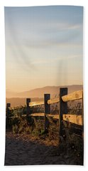 California Sunset Bath Towel
