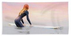 California Surfer Girl I Bath Towel