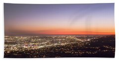 Californian Sunset Bath Towel