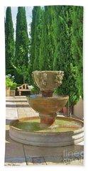 Californian Tuscan Villa Hand Towel