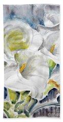 Calla Hand Towel by Jasna Dragun