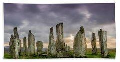 Callanish Stone Circle, Scotland Bath Towel