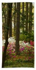 Callaway Gardens Spring Azaleas Bath Towel by Kathy Clark