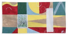 Calm And Chaos Hand Towel
