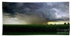 Calm Before The Storm Bath Towel by Sue Stefanowicz
