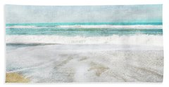 Calm Coast- Art By Linda Woods Bath Towel