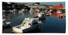 Calm On Rockport Hand Towel