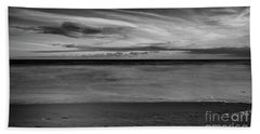 Bath Towel featuring the photograph Calming Seas by Linda Lees