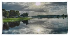 Caloosahatchee At Daybreak Hand Towel