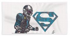 Cam Newton Superman Edition Hand Towel
