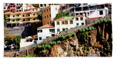 Camara De Lobos On The Island Of Madeira Hand Towel
