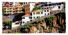 Camara De Lobos On The Island Of Madeira Bath Towel