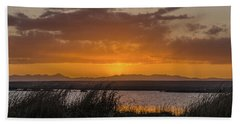 Hand Towel featuring the photograph Camas National Wildlife Refuge by Yeates Photography