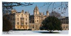 Cambridge Snowscape Bath Towel