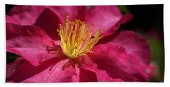 Camellia Sasanqua Hand Towel