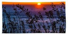 Calmness At Sunset Hand Towel