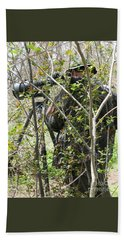 Hand Towel featuring the photograph Camouflage by Ann Horn