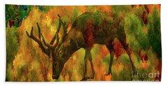 Camouflage Deer Bath Towel