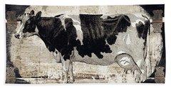 Campagne I French Cow Farm Bath Towel