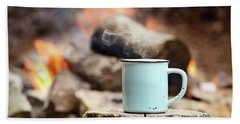 Campfire Coffee Bath Towel