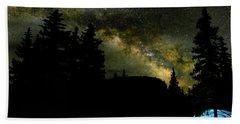 Camping Under The Milky Way 2 Bath Towel