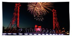 Hand Towel featuring the photograph Canada Day 2016 by JT Lewis