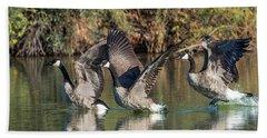 Canada Geese 5659-092217-1cr-p Hand Towel