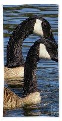 Canada Geese Hand Towel
