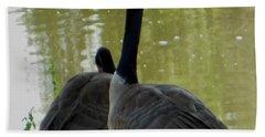 Canada Goose Edge Of Pond Bath Towel