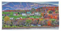 Canadian Fall Foliage Hand Towel