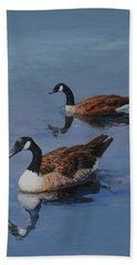 Canadian Geese Hand Towel