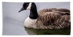 Canadian Goose At Rio Hand Towel