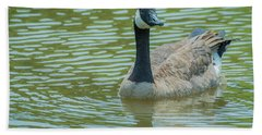 Canadian Goose Img 1 Bath Towel