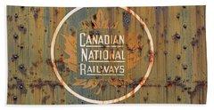Canadian National Railways  Bath Towel