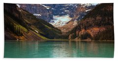Canadian Rockies In Alberta, Canada Bath Towel