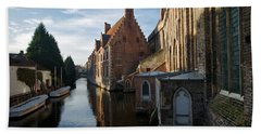 Canal By Church Bath Towel