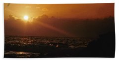 Canary Islands Sunset Bath Towel