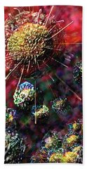 Cancer Cells Bath Towel