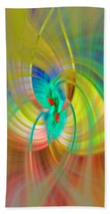 Candle In The Wind Hand Towel by Cathy Donohoue