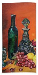 Candlelight Decanter Hand Towel