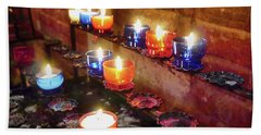 Candles Bath Towel