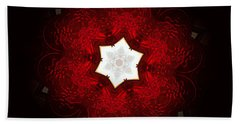 Candy Apple Red Hand Towel