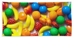 Candy Fruit Bath Towel by Art Block Collections