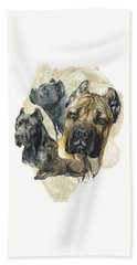 Cane Corso W/ghost Hand Towel